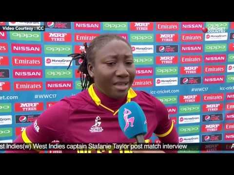 Australia(w) vs West Indies(w) - West Indies captain Stafanie Taylor post match interview