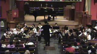Mozart Symphony No 40 - New Jersey UBF 5 loaves and 2 fish orchestra‏ concert