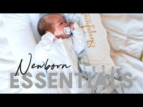 NEWBORN ESSENTIALS & MUST HAVES 2018 UK | BABY ESSENTIALS HAUL | MOM OF TWO UNDER TWO