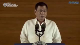 FULL VIDEO: President Rodrigo Duterte's Sona 2016