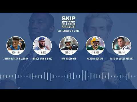 UNDISPUTED Audio Podcast (9.20.18) with Skip Bayless, Shannon Sharpe & Jenny Taft   UNDISPUTED