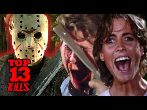 My TOP 13 Kills in Friday The 13th