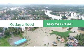 Kodagu flood //rain flood in coorg    pray for coorg