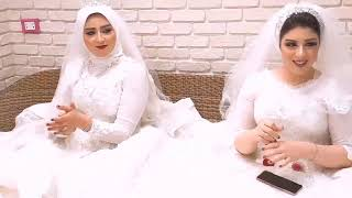 """عروستين خطفواالانظار بجمالهم ورقصهم على مهرجان بنت الجيران """" بهوايا انتي قاعده معايا """" ماشاء الله ❤️"""
