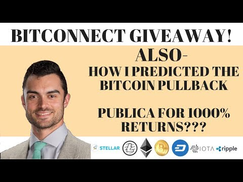 PUBLICA FOR 1000% RETURN? | PREDICTING THE BITCOIN PULLBACK
