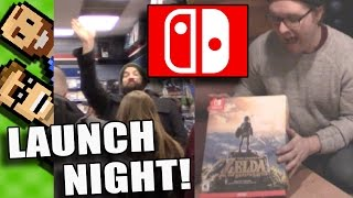 Our Midnight Launch Experience - Breath Of The Wild Special Edition & Nintendo Switch