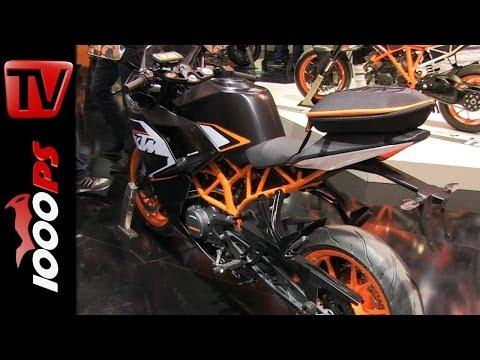 KTM RC125/RC200 2014 Details&Information @EICMA 2013