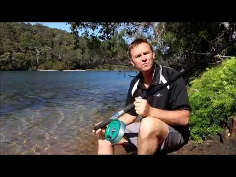 How To Cast With A Side Cast Fishing Reel   The Hook And The Cook