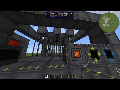 Minecraft 1.7.10 Big Reactors Basit Reaktör Yapımı