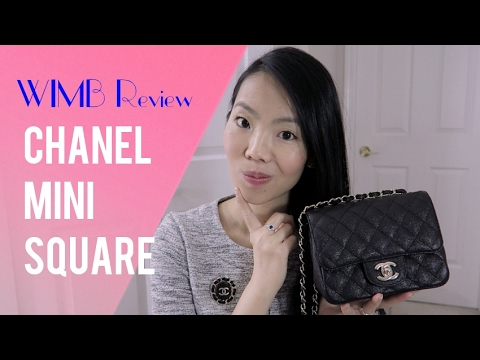 01496272d287 CHANEL MINI SQUARE CLASSIC FLAP WIMB REVIEW - Cruise 2017 Collection |  FashionablyAMY