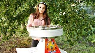Аппарат для приготовления сахарной ваты УСВ-4  Кеша - обзор