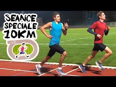 Améliorer Votre Temps Au 10km - Séance Spé 10km - Entrainement Course à Pied - Ma Séance Sur Piste