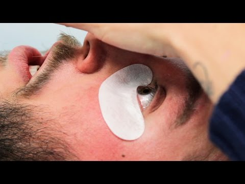 7dcf90de823 Guys Get Eyelash Extensions - YouTube