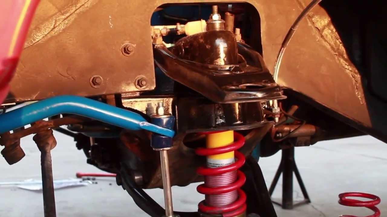 IPD Build Off Episode 3 - Suspension Rebuild Volvo 122s Amazon - YouTube