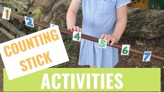 Counting Stick Activities For Early Maths - The Complete Guide