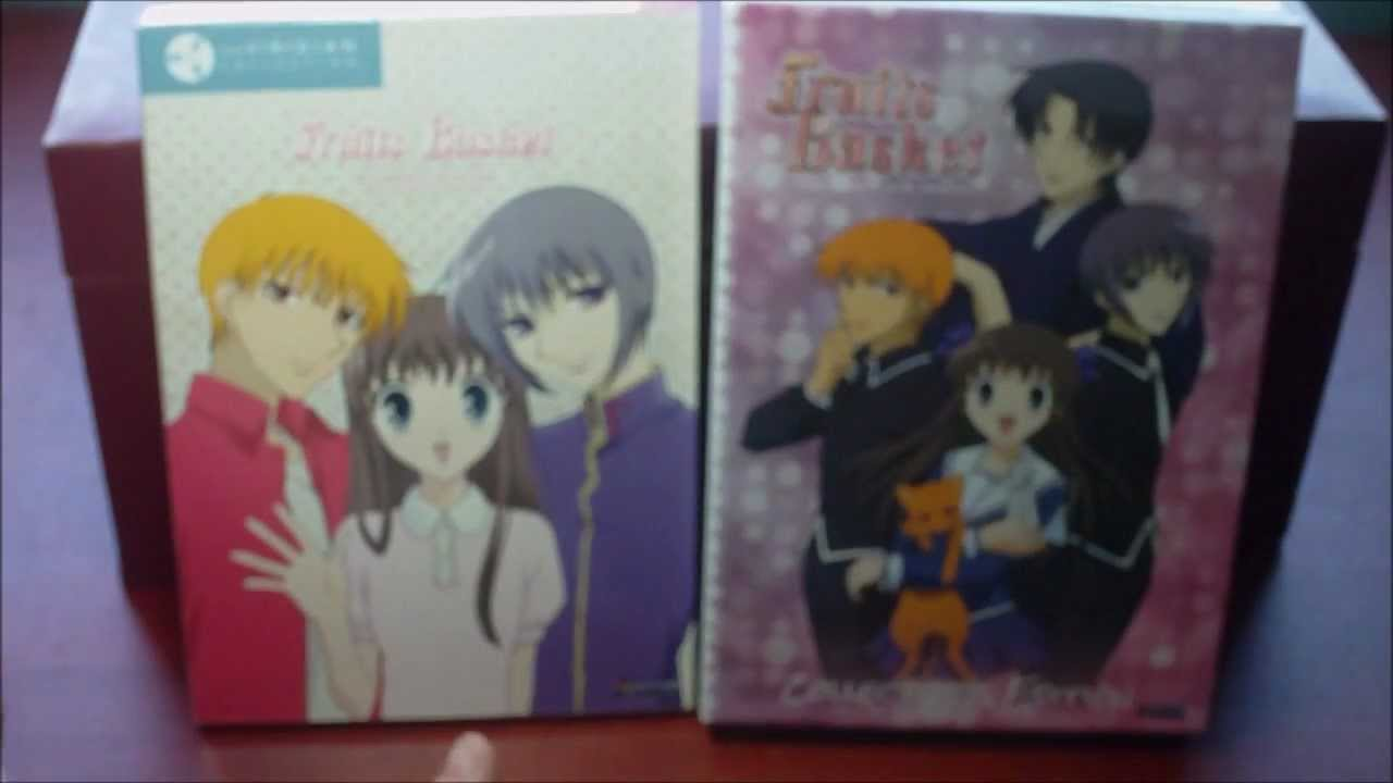 Fruits Basket Viridian Collection Collectors Edition Unboxing