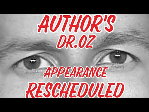 Letters From Christopher Author,  Dr Oz Show Appearance Rescheduled
