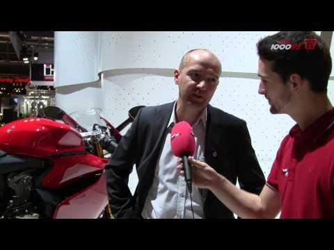 Akrapovic Ducati Panigale Komplettanlage Eicma 2012