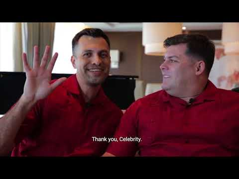 Vision Cruise | Celebrity Cruises First Legal Same Sex Marriage at Sea