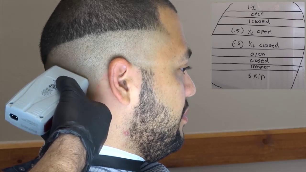 Bald  Skin Fade Tutorial