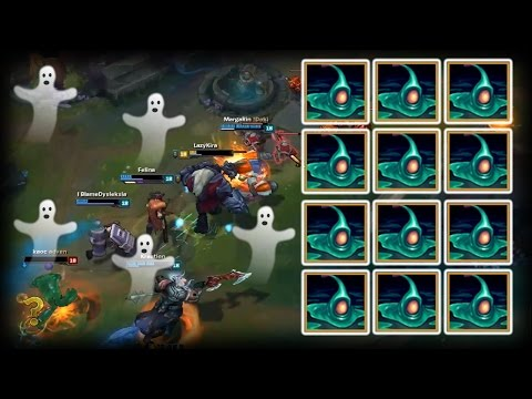 Best Of LoL Moments 40 - Zac Like Ghosts / Zac Bug (League Of Legends)