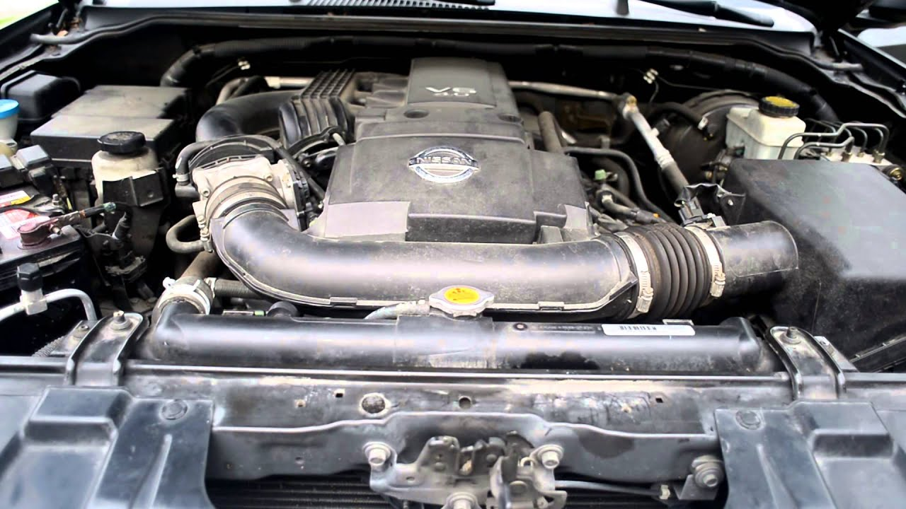 nissan frontier engine 2007 noise fixed whining