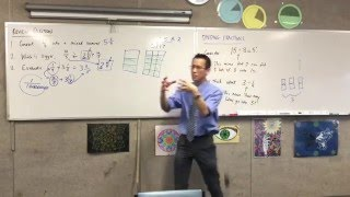 Dividing Fractions (2 of 2: Introduction to Division of Fractions with some introductory examples)