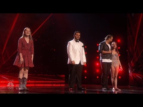 America's Got Talent 2016 Live Shows Round 2 Results Part 3 Dunkin Save Act S11E15