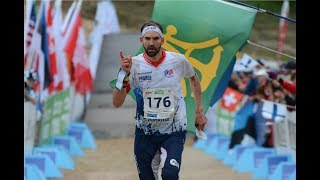 The last run of the King of Orienteering