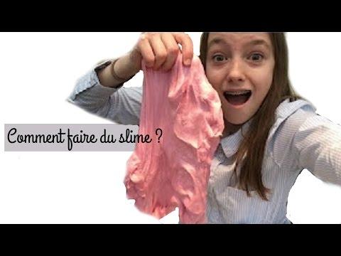COMMENT FAIRE DU SLIME /// La vraie recette