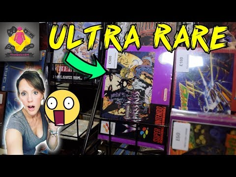 EPIC RETRO GAME HUNT | Video Game Market | 1000's of SNES, NES, Sega, PS1 Games and more | TheGebs24