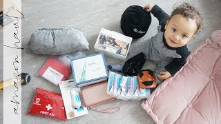 Amazon (Travel) Haul + Trying out NEW Makeup! | VLOG