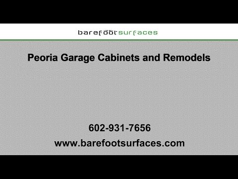 Peoria Garage Cabinets and Remodels | Barefoot Surfaces
