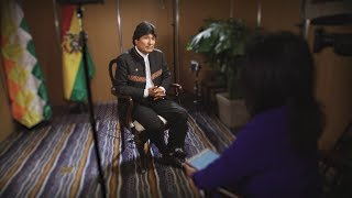 An interview with Bolivian President Evo Morales