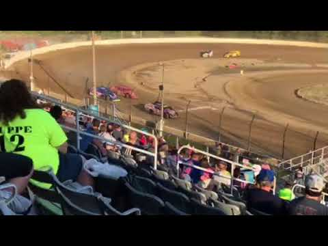 6-9-18  PLYMOUTH SPEEDWAY, IN  MOD - H1 prt 2 of 2