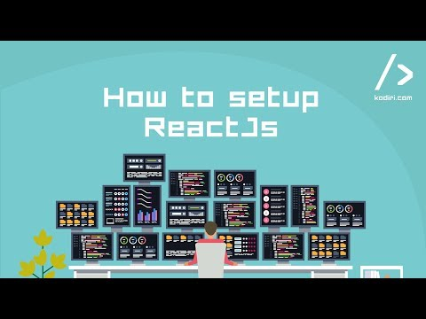 How to set up your first ReactJs app