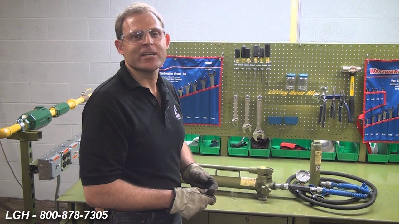 Troubleshooting Hydraulic Cylinders Pumps Youtube Simple Press How To Control Decompression In