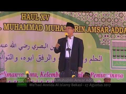 Prof.Dr. Ahmad Thib Raya MA - Haul Ke-15 KH. M. Muhajirin Amsar Addaary