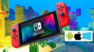 NEW Minecraft for Nintendo Switch!! (and how to get a free upgrade)
