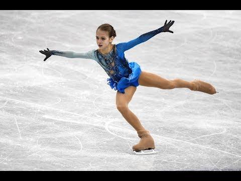 Трусова впервые в истории женского фигурного катания исполнила четверной тулуп
