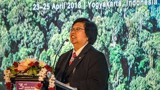 """We can nail it."" – H.E. Siti Nurbaya on forests and the  NDCs – #APRS2018"