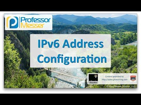 Descargar Video IPv6 Address Configuration - CompTIA Network+ N10-006 - 1.8
