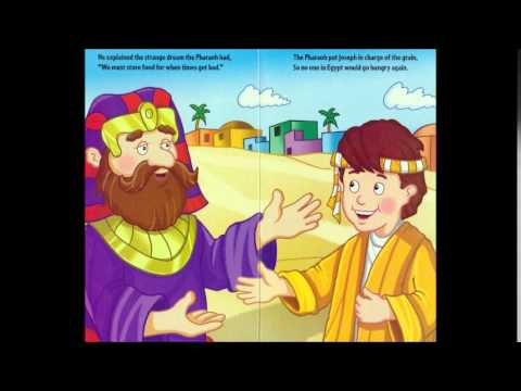 joseph and the coat of many colors animated bible story book - Coat Of Many Colors Book