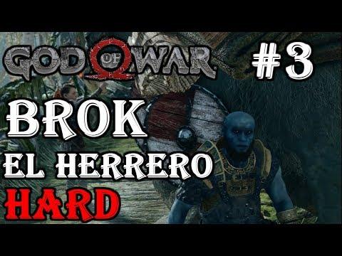 God of War #3 Brok el Herrero Reacción Guía/Walkthrough Difícil/Hard