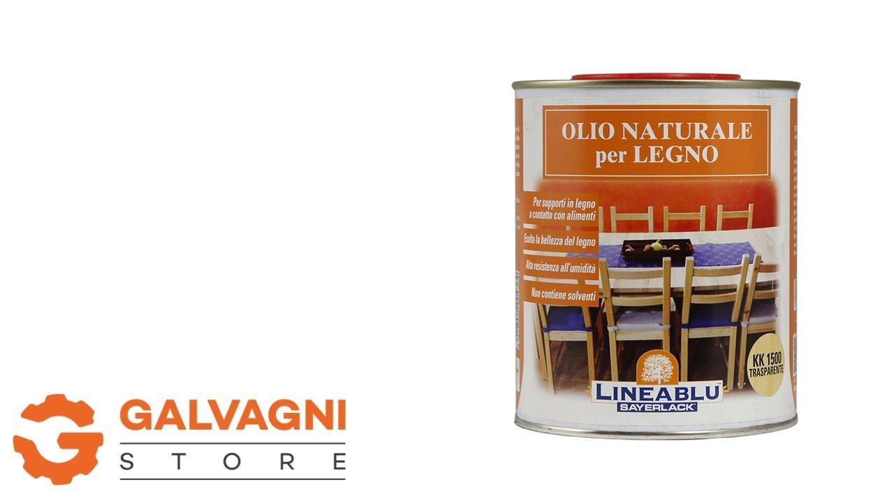 Finitura Legno Per Alimenti olio naturale per legno sayerlack kk 1500 trasparente - 750 ml