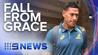 Israel Folau Sacked After Homophobic Comments | Nine News Australia