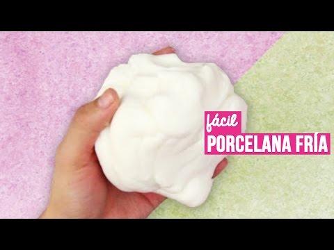 Como hacer Porcelana Fría casera (RECETA FÁCIL) // Cold porcelain recipe