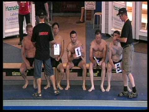 Sauna World Championships 2009 - 1st round / Heat 1