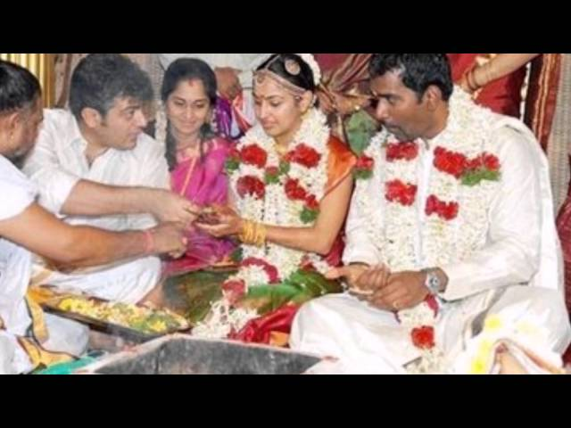 Tamil Actor Ajith Kumar At His Sister In Law Sh