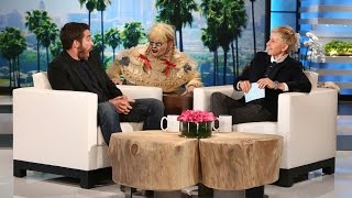 Jake Gyllenhaal Gets Scared